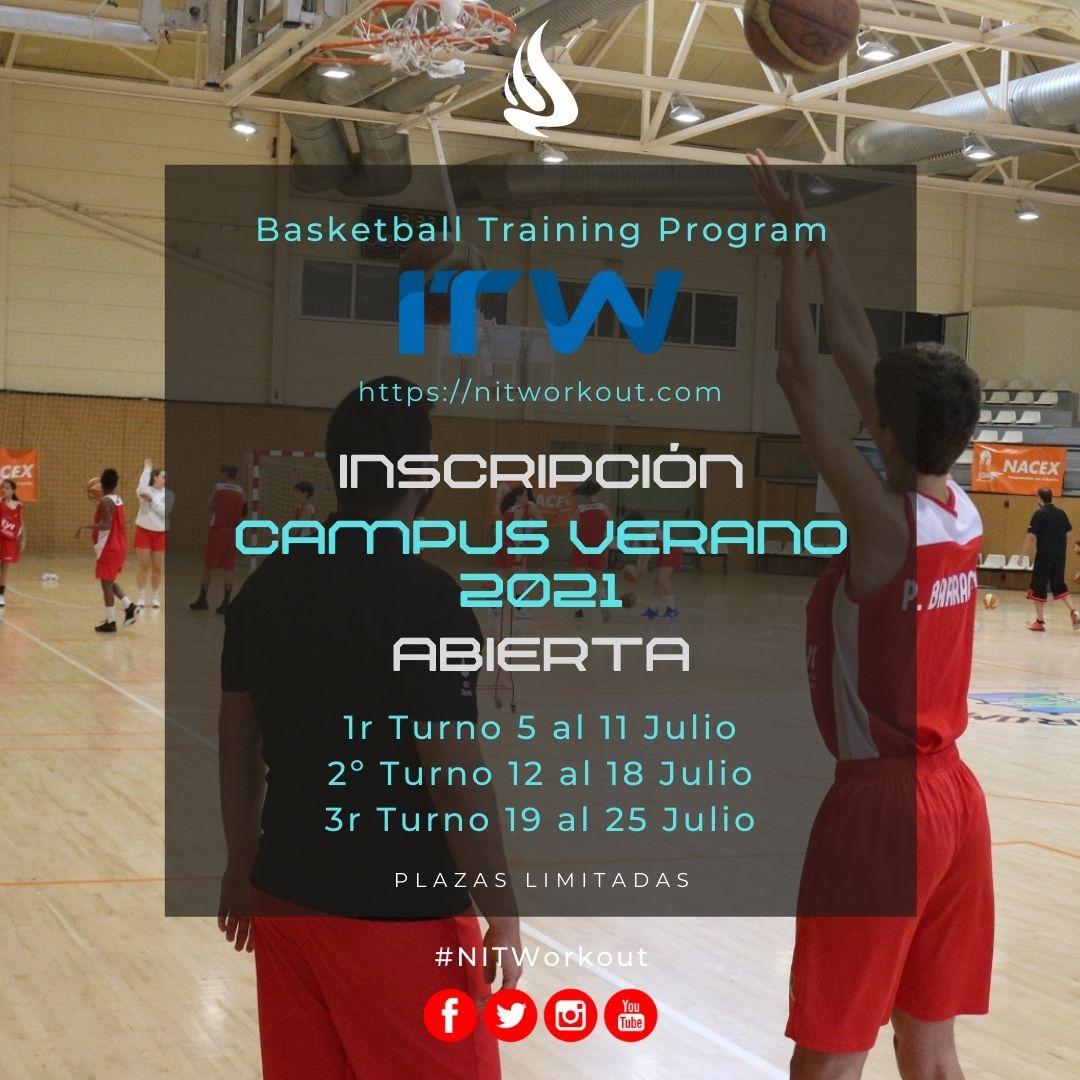 Campus verano NITWorkout 2021