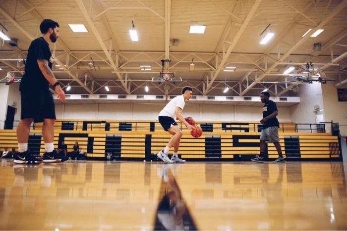 entrenamiento baloncesto ejercicioscon 3x3
